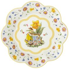 Villeroy & Boch Spring Decoration Large Bowl : Yellow 12.25 in-01