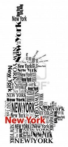 statue of liberty with words New York