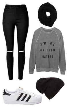 """I am done"" by angela229 ❤ liked on Polyvore featuring Wyatt, adidas, women's clothing, women, female, woman, misses and juniors"