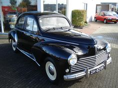 1956 Peugeot 203 via french-cars-since-1946