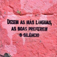 O silêncio tem sempre razão.  Sigam @afetoearte