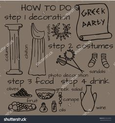 ancient greece party ideas - Google Search                                                                                                                                                                                 More
