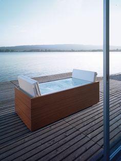 Whirlpool-Badewanne für Indoor und Outdoor
