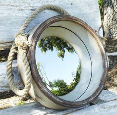 homeroad: Porthole Mirror - beach room
