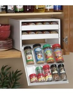 spice stack rack-at Bed Bath and Beyond.  I was just saying I need something to organize my spices!