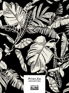 jungle pattern Tropical textile pattern for PrintCo Argentina, summer Textile Pattern Design, Surface Pattern Design, Textile Patterns, Pattern Art, Print Patterns, Pattern Design Drawing, Jungle Pattern, Motif Jungle, Jungle Print