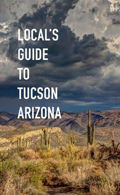 Want to know where the local's go? Check out our latest guide to Tucson, Arizona brought to you with the suggestions of over 15 locals!