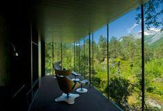 Betoverend! Slapen in het Noorse Juvet Landscape Hotel - WANT
