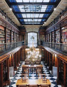 Top 30 libraries : Bibliothèque du Château de Detmold, Allemagne