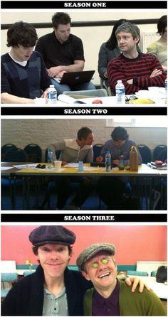 BBC Sherlock Holmes Benedict Cumberbatch Martin Freeman