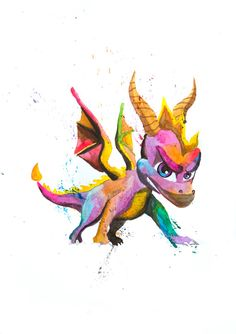 """littlegeekyfanart: """" Spyro the Dragon. Boy, what I played these games when I was a kid :D Loved them! Little Geeky Fan Art """" I loved this game too! Spyro The Dragon, Dragon Art, Arte Nerd, Nerd Art, Art Hipster, Video Nature, Spyro And Cynder, Childhood Games, Gaming Tattoo"""