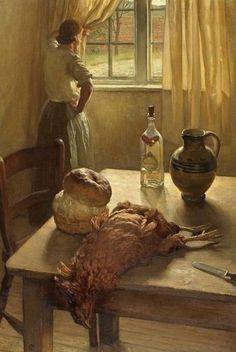 Isabel Codrington, 'The kitchen' (1927)