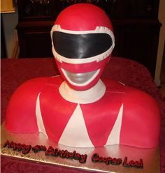 Power Ranger Cake.. Hmmm how can I make this