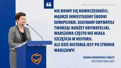 Warszawiacy, 30 listopada II tura wyborów. Wybierzcie sprawdzoną i skuteczną Panią prezydent. 30 listopada prosimy o głos na Hanna Gronkiewicz-Waltz :)