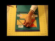 Triangle Quick Step from Time To Quilt