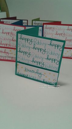 Endless Birthday Wishes #stampinup