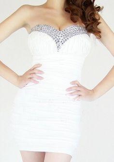 Bra Diamond Fold Nightclub Dress Dress