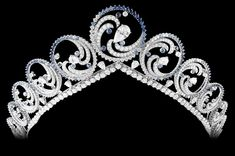 The Royal Order of Sartorial Splendor: Tiara Thursday: The Diamond Foam Tiara/Necklace - Charlene's Wedding Gifts From the Prince of Monaco