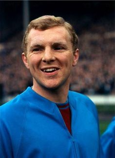 FA Cup Final. West Ham United v Preston North End. 2/5/1964 so what if I've pinned this picture before !!  It's Bobby ........