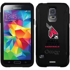 Ball State Cardinals Design on OtterBox Commuter Series Case for Samsung Galaxy S5