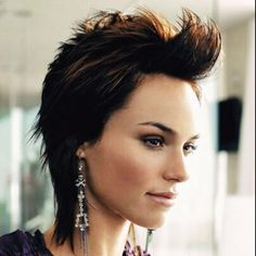 Short edgy hair style ideas - from pixies to mullets