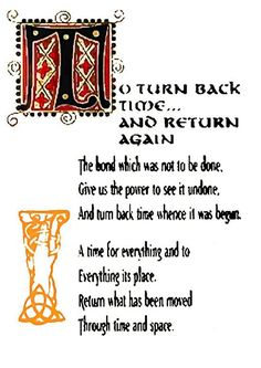 Charmed Series Book of Shadows: To Turn Back Time and Return Again Witch Spell Book, Witchcraft Spell Books, Magick Book, Magick Spells, Wiccan Magic, Black Magic Spells, Witchcraft Spells For Beginners, Hoodoo Spells, Charmed Book Of Shadows