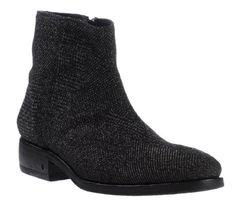 abaabec170c herringbone textile upper - leather lining and insole - leather outsole  John Varvatos