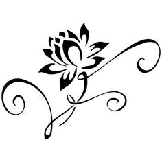 Water Lily Tattoos - ClipArt Best - ClipArt Best