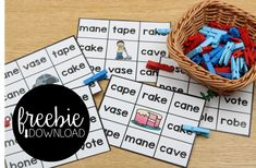LET'S CHAT CVCE WORDS! [FREEBIES INCLUDED]