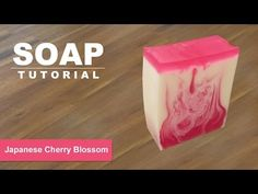 Orange Vanilla, Melt and Pour Soap Tutorial, Soap Swirls Part 2 - YouTube