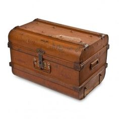 Old trunks fascinate me and they are so great for storage!
