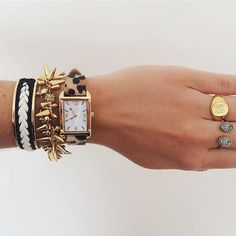 It's time ⏰ to get styled in our latest collection! #stelladotstyle #newarrivals Contact your Personal Stylist today to learn how this #armparty can be yours for #FREE!