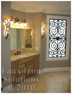 Love Wrought Iron? Try cost-effective, easy-to-install Faux Iron instead! | Christine Ringenbach - Your Henderson Interior Decorator for Hom...
