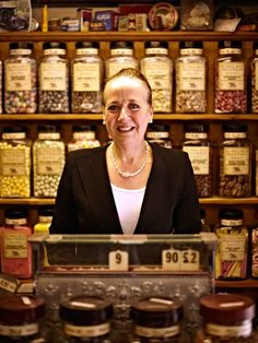 The Oldest Sweet Shop In the UK by andy darcy, via Behance