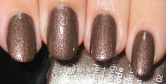 Avon Touch of Taupe suede with topcoat