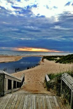 My favorite beach.....where Duck Lake Channel flows into Lake Michigan near Whitehall, Michigan.