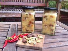 csípős-édes-fűszeres körtechutney Food 52, Sweet Life, Chutney, Preserves, Pesto, Squash, Mason Jars, Spices, India