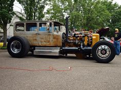Caterpillar Rat Rod Needs a SKID PLATE on the oil pan. not sure how fast it will go, but it could pull down a house.