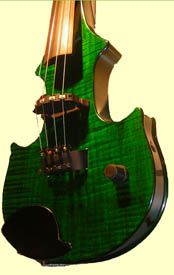 Not a fan of electric violins. But I really enjoy its design. Really like its water waves. Reminds me of Les Paul.