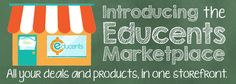Looking for educational products at a great low price? Introducing the NEW Educents Marketplace!