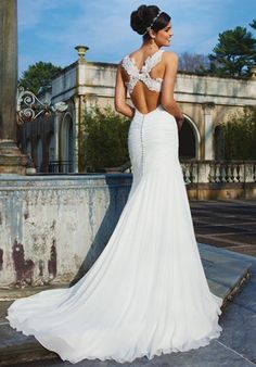 Sincerity Bridal Wedding Dresses - Search our photo gallery for pictures of wedding dresses by Sincerity Bridal. Find the perfect dress with recent Sincerity Bridal photos. Sincerity Bridal Wedding Dresses, Wedding Dress Backs, Bridal Gowns, Wedding Gowns, Backless Wedding, Backless Gown, Weeding Dress, Wedding Bride, Perfect Day