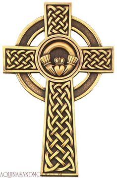 Celtic cross Claddagh