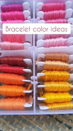 Diy Bracelets Patterns, Yarn Bracelets, Diy Bracelets Easy, Summer Bracelets, Bracelet Crafts, Bracelet Designs, Colorful Bracelets, Diy Friendship Bracelets Tutorial, Diy Friendship Bracelets Patterns