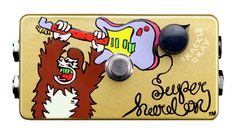 ZVex Effects Hand Painted Super Hard On Boost Guitar Effects Pedal