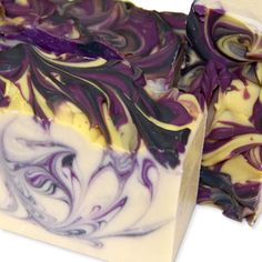 Gorgeous swirls - black raspberries and a hint of vanilla