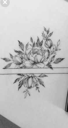 Armband Tattoo, Tattoo Drawings, I Tattoo, Mandala Tattoo, Flower Tattoos, Pin Collection, Tatoos, Piercings, Tattoo Designs