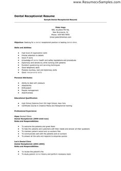 sample resume receptionist administrative assistant sample
