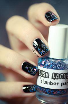 Glitter Glitter Glitter #glitter nail polish! #ikgift
