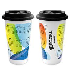 Calendar travel mugs