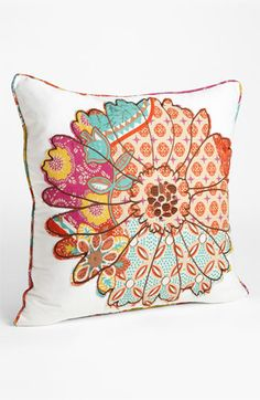 Levtex Flower Appliqué Pillow available at #Nordstrom